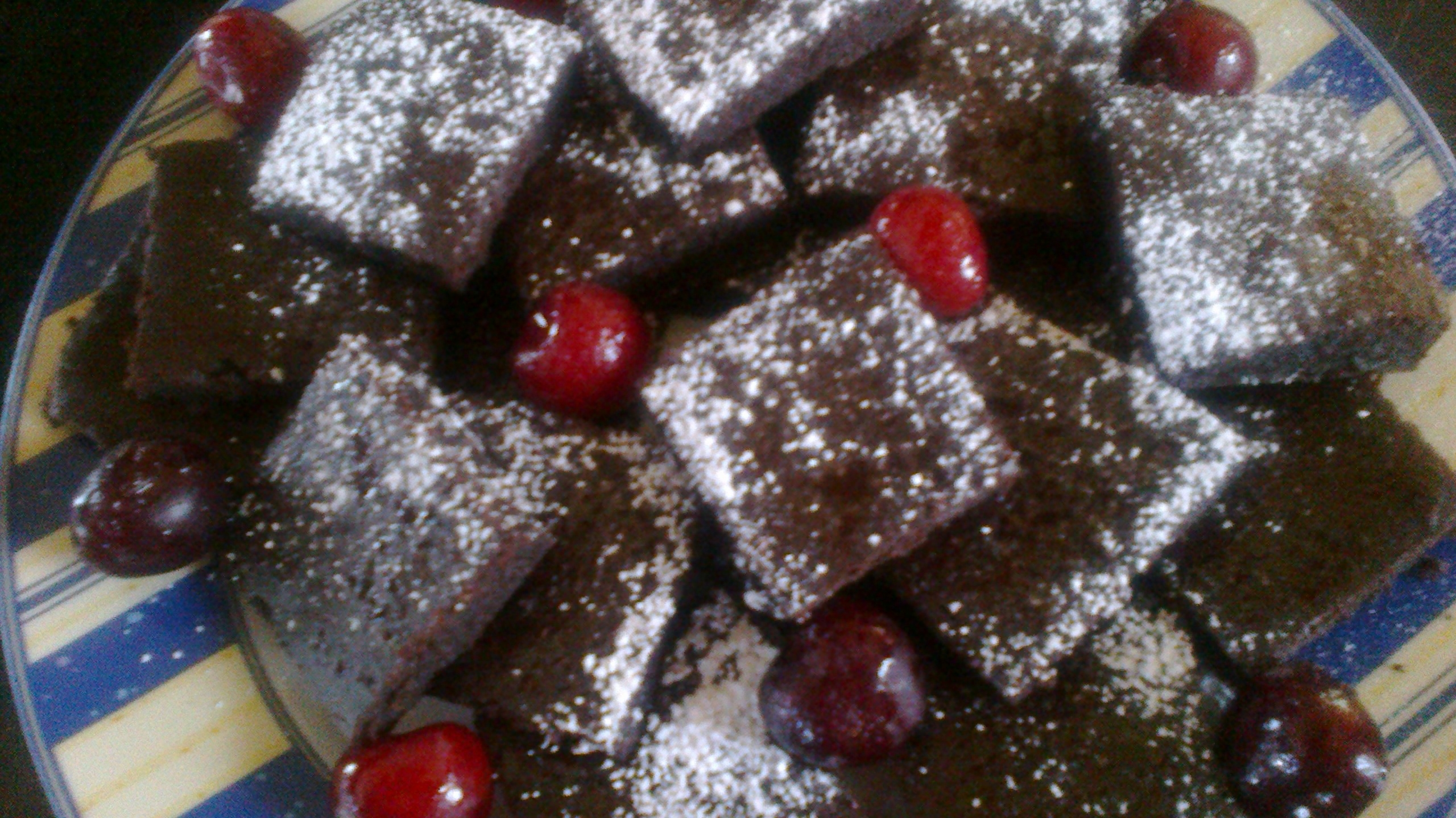 Céklás brownie 1