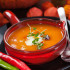Pumpkin soup with chili